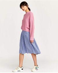 Bellerose Arles Gingham Skirt - Blue