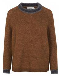 Munthe Enock Knit   Camel   - Brown
