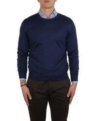 Lamberto Losani Knitwear H281014 665 - Blue