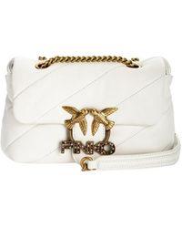 Pinko Bag Love White Mini Puff
