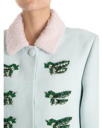 Vivetta - Nara Coat In Green - Lyst