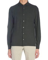 Zanone Cotton Shirt - Green