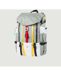 Topo Mountain Backpack - Metallic