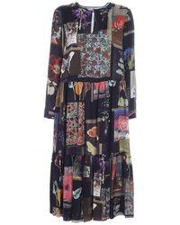 Vivetta Moodboard Print Dress - Multicolour