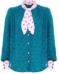 Paolita Melia Patti Shirt - Blue