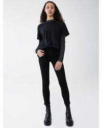 Agolde Sophie Crop Jeans - Metallic