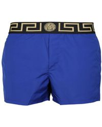 Versace - Shorts In Blue - Lyst