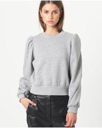 Second Female Sweat Shirt - Grey