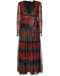 RED Valentino Women's Sr3vaf704a00no Black Polyester Dress
