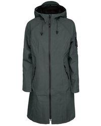 Ilse Jacobsen Long Raincoat Urban - Green