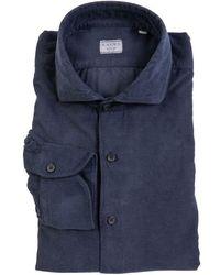 Xacus Shirt Indigo - Blue