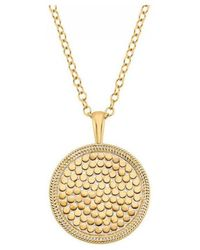 Anna Beck - Medallion Necklace - Lyst