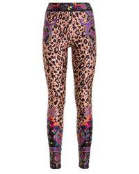 Versace Jeans Couture Leopard legging - Multicolor