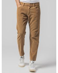President's Jeans Corduroy Short Wide - Brown