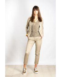 Transit Soft Cotton Chino Jacket - Natural