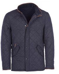Barbour Mens Powell Quilt Jacket - Blue