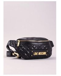 Love Moschino Quilted Bum Bag Colour: Black