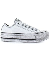 Converse All Star Platform White Smoke In Sneaker