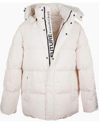 MSGM Coats - White