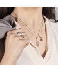 V Jewellery Orb Pendant - Metallic
