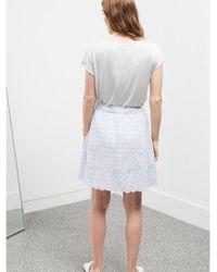 Great Plains - Broderie Skirt - Lyst