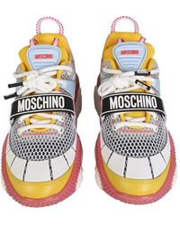 Moschino Teddy Pop Running Sneakers - Multicolour