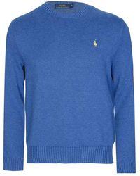 Ralph Lauren Polo Knitted Sweater - Blue