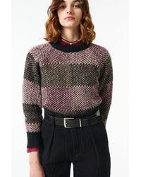 Antik Batik Aw21 Arturo Alpaca Sweater Gray
