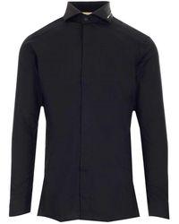 1017 ALYX 9SM Men's Aamsh0107fa01blk0001 Black Other Materials Shirt