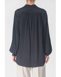 Sfizio Shirt Korean Neck - Blue