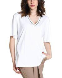 Eleventy Cotton T-shirt - White