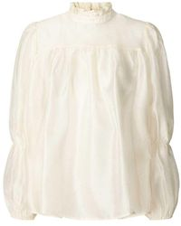 Lolly's Laundry Lollys Laundry Palma Cream Blouse - Natural