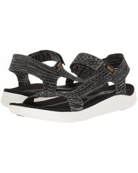 Teva Mens Terra-float 2 Knit Evolve Sandals - Gray