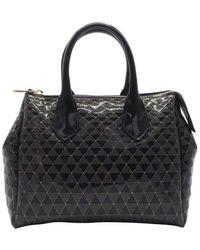 Gum Pvc Handbag - Black