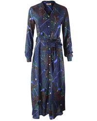Pyrus Ophelia Dress - Blue