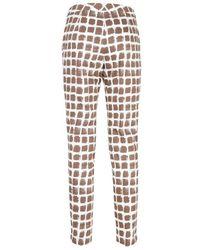 Sei Sette 57 Cotton Trousers - Brown