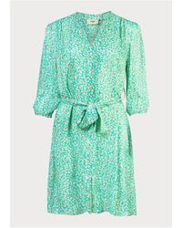 Pyrus Marina Shirt Dress Mint - Green