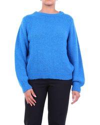 ACTUALEE Knitwear Crewneck Tte - Blue