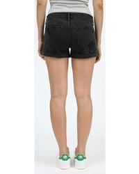 Articles of Society Behy Relaxed Boyfriend Shorts - Black
