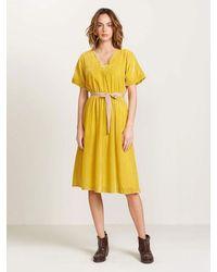 Bellerose Hoek Dress - Yellow