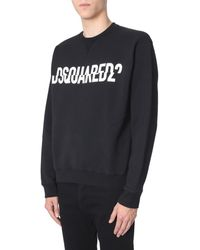 3104a267e7e DSquared² Mvp Print Sweatshirt in Red for Men - Lyst