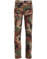 Moschino Camo Jeans - Brown