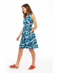 Emily and Fin New Lucy Road Trippin' Dress - Blue