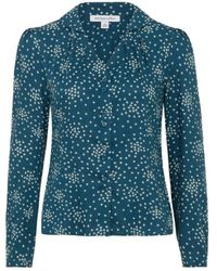 Emily and Fin - Elspeth Star Print Blouse - Lyst