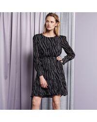 FABIENNE CHAPOT Bonnie Bo Dress - Stardust Zebra - Black