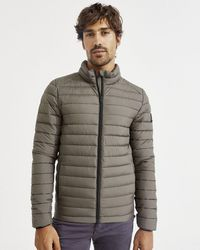Ecoalf Beret Quilted Jacket - Olive - Green