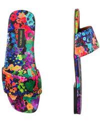 Stine Goya Henra Satin Shoes All Over 60's Uk4 - Multicolour