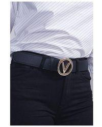 Valentino By Mario Valentino Round Belt Colour: Ecru - Multicolour