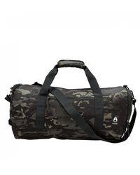 Nixon Pipes 25l Duffle Bag - Black Multicam Size: One Size, Colour: Ca - Green