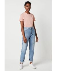 French Connection Palmira Straight Leg Jeans   - Blue